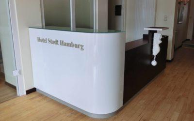 Hotelempfang in Heiligenhafen (Schleswig-Holstein)
